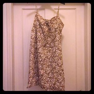 Strappy Vineyard Vines dress with fish print